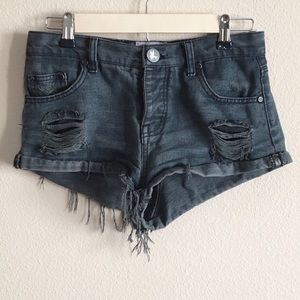 @mariko8 one teaspoon bandits denim short